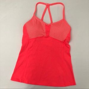 Athleta Fulfillment Strappy Padded Gym Tank Top